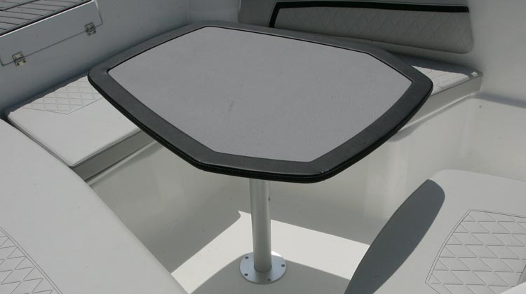 Cockpit table, removable
