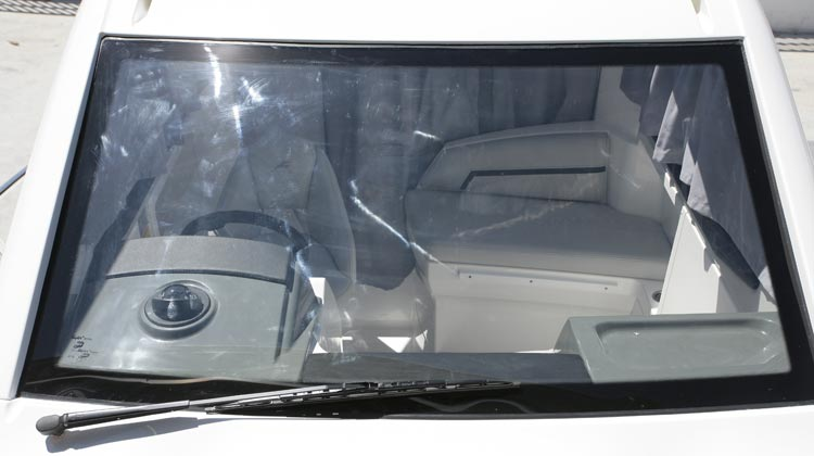 Automotive technology bonded safety glass for front and sides