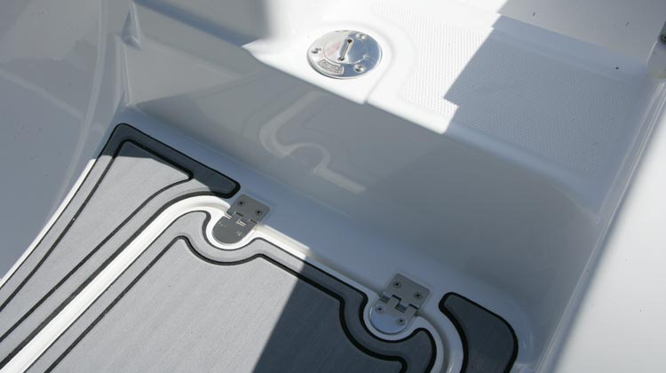 Stainless steel deck hardware and hinges