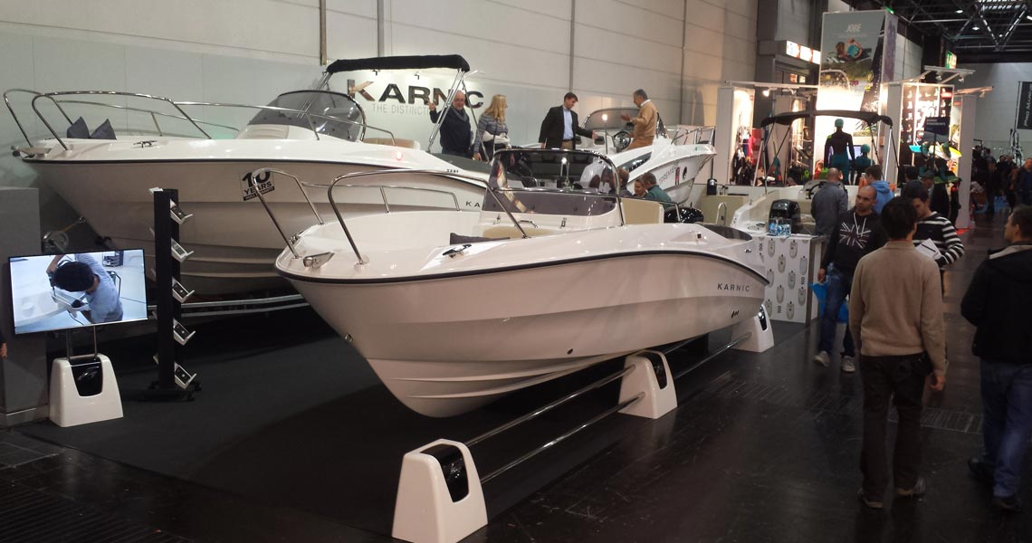 Karnic at Dusseldorf Boat Show, 23-31 January 2016, Stand H9 D42
