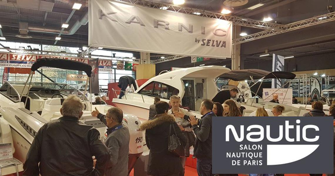 Karnic at Paris Boat Show, 2-10 December 2017