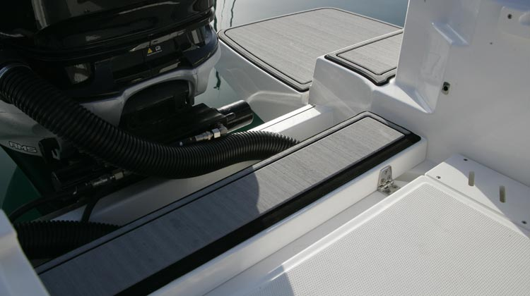 SeaDek floor package - swim platforms and aft deck