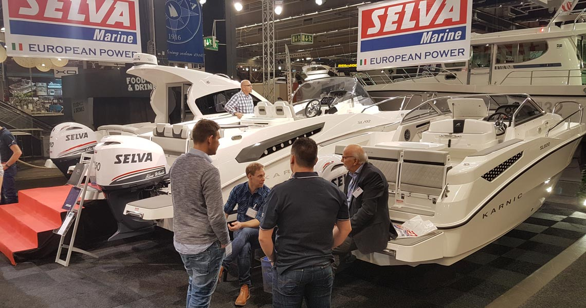 Karnic participation at Scandinavian Boat Shows