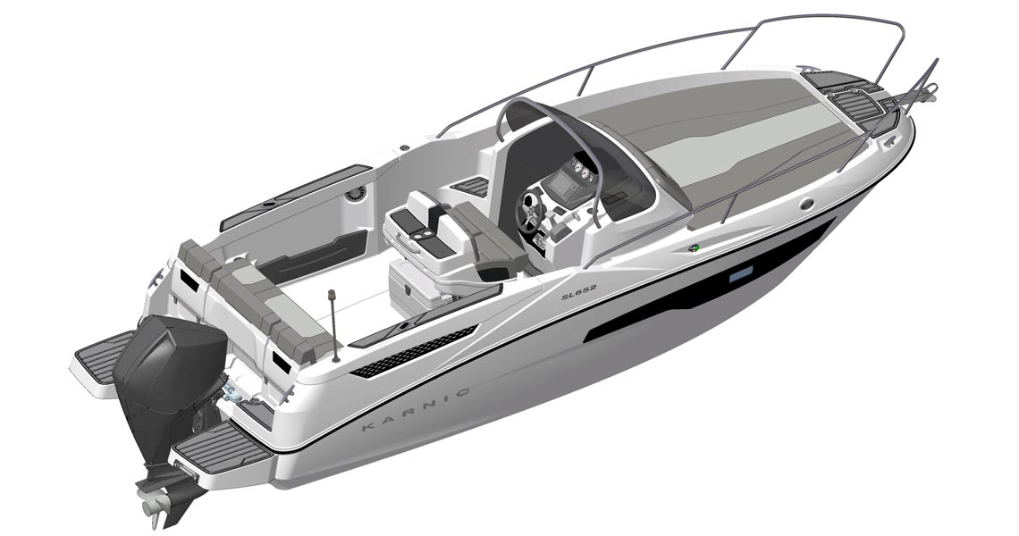 Karnic launches new SL652 Sundeck in the 6.5m category
